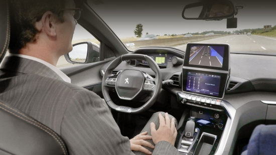 Peugeot 3008 showed with full autopilot